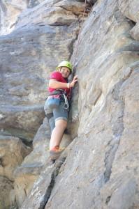 Climbing at Crawdad Canyon