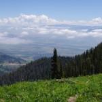 Jackson from Teton Pass