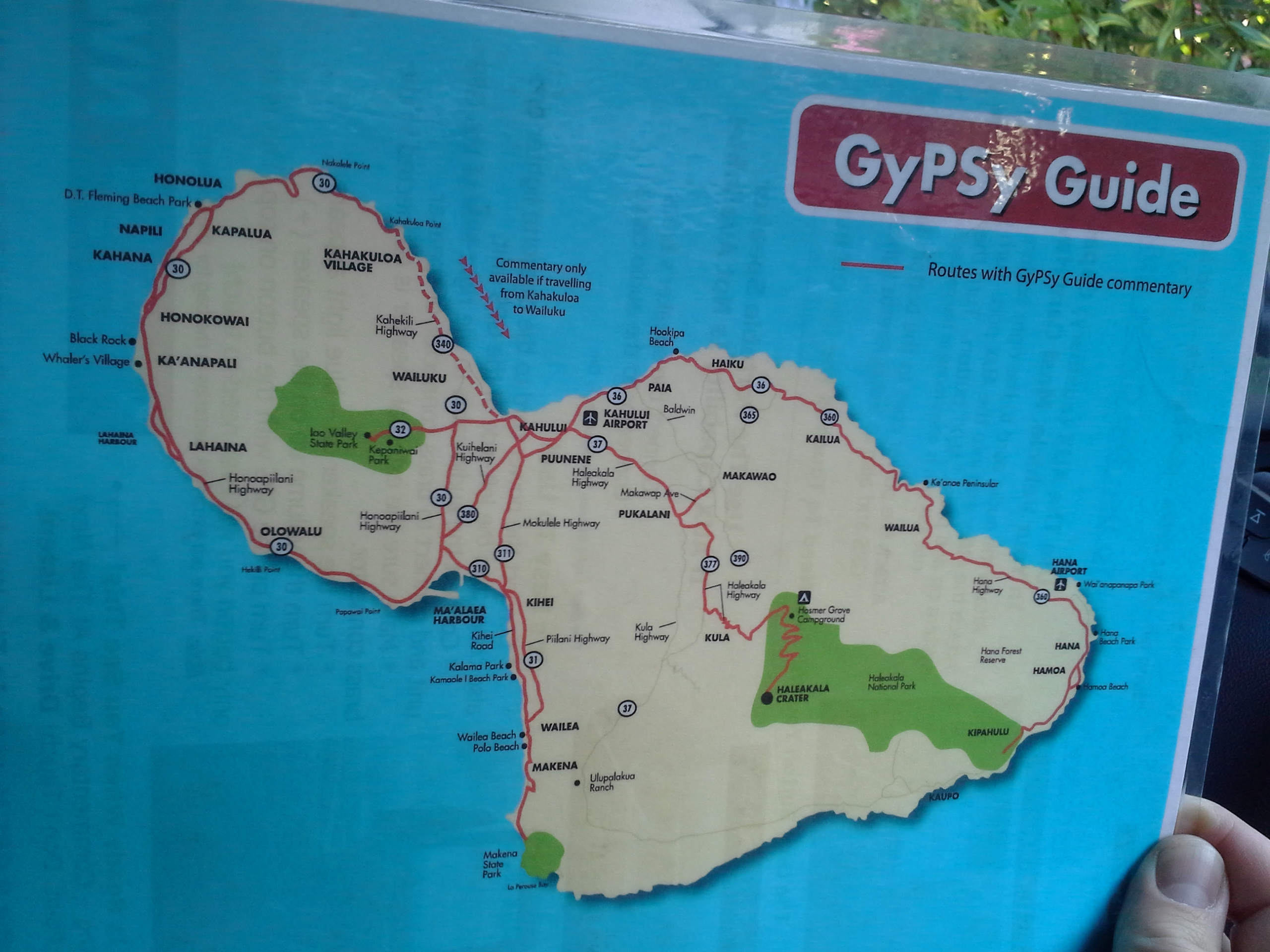 GyPSY Guide Map to Maui
