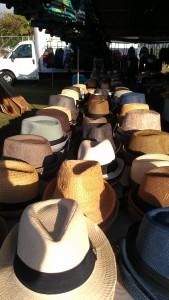 Hats at the Maui Swap Meet