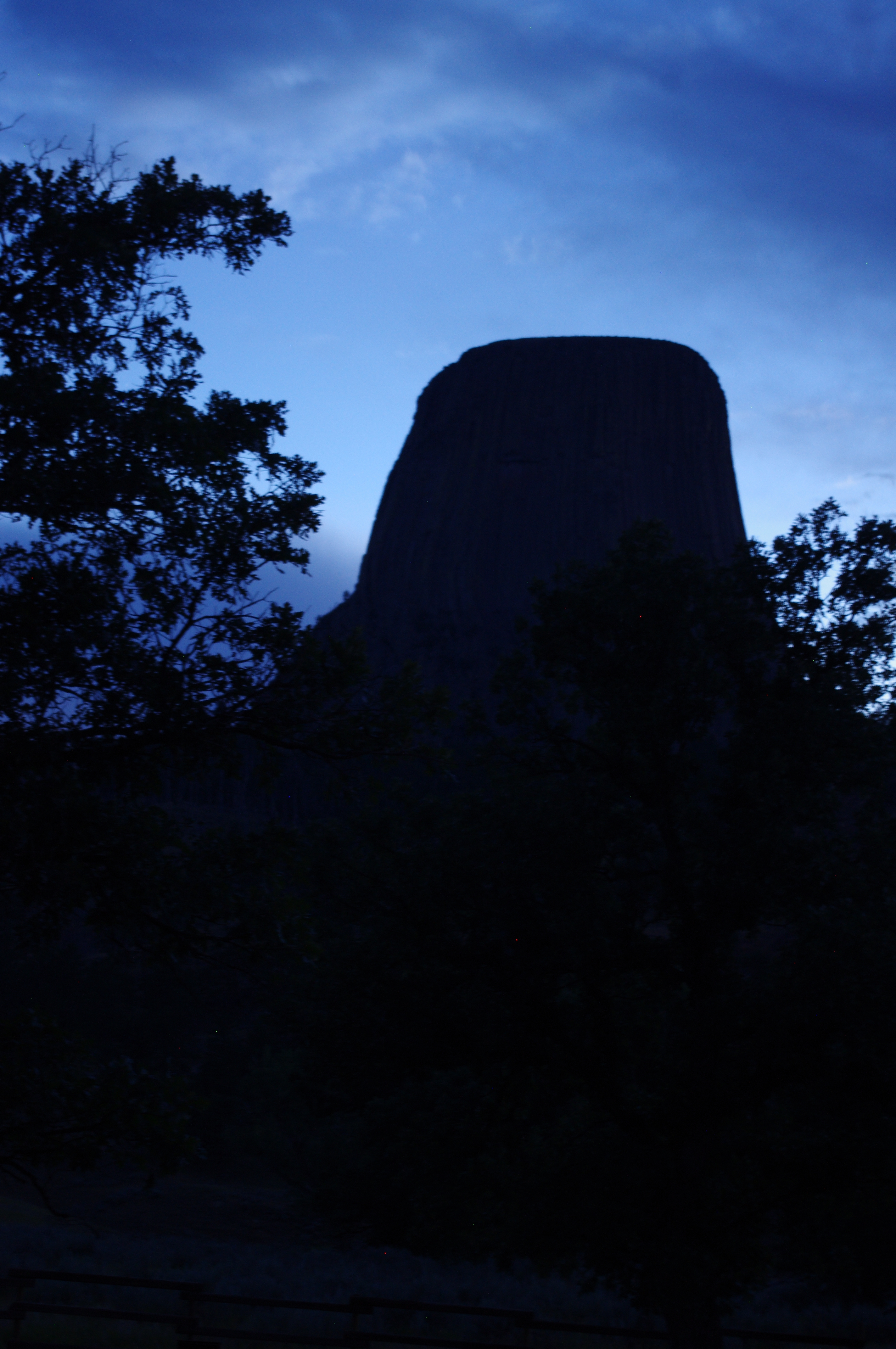 Devil's Tower from our campsite