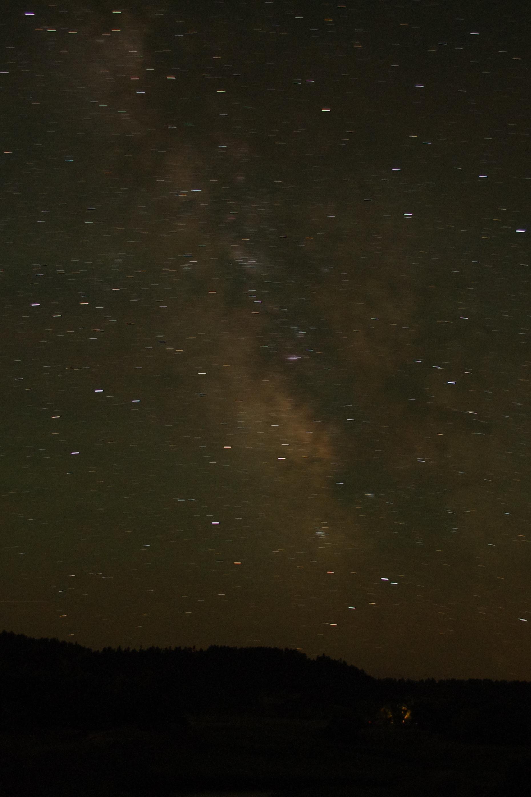 Milky Way, Devil's Tower WY
