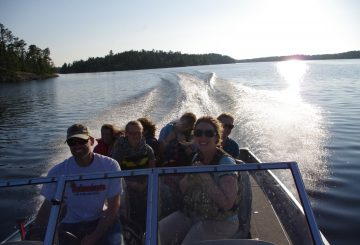 Family Road Trip to a Canadian Island